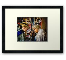The Old Wives Tale Framed Print