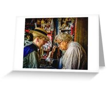 The Old Wives Tale Greeting Card
