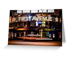 First Avenue Greeting Card