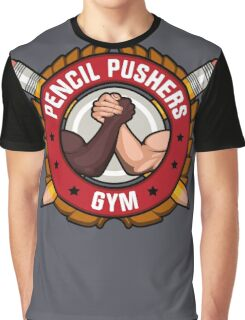 Pencil Pushers Gym Graphic T-Shirt