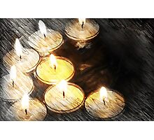By Candlelight Photographic Print