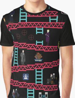 8 Bit Sherlock Graphic T-Shirt