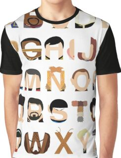 Star Trek Alphabet Graphic T-Shirt
