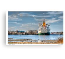 Fore River Sights Canvas Print