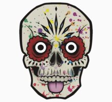 Mexican Calaverita One Piece - Short Sleeve