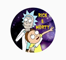 Rick and morty round Unisex T-Shirt