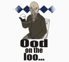 Ood on the loo...  Kids Tee