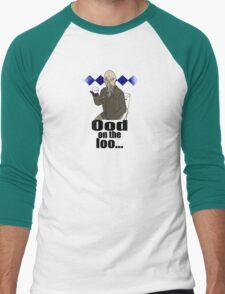 Ood on the loo...  Men's Baseball ¾ T-Shirt