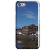 Oban, Scotland seawall iPhone Case/Skin