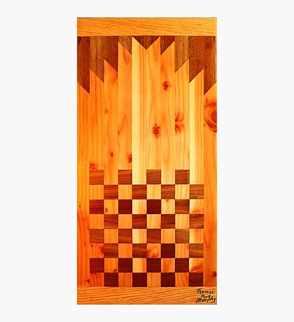 Indian Chess Turkey Table Portrait Photographic Print