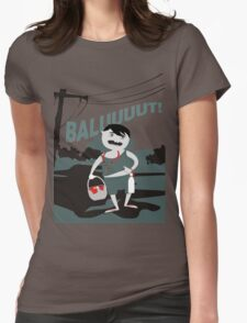 Pinoy Prints: Balut vendor Womens Fitted T-Shirt
