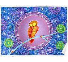 Owl Goddess Magic Poster