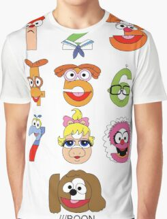 Muppet Babies Numbers Graphic T-Shirt