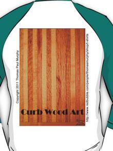 Official Curb Wood Art T shirt T-Shirt