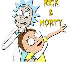 Rick and morty by animangle