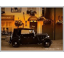 The oul Austin in Kinsale. Photographic Print