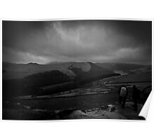 Hikers - Derwent Valley - Peak District Poster