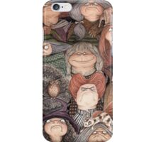 A Gaggle of Witches iPhone Case/Skin