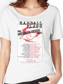 Randall Flagg World Tour- Metal/Hardcore/Punk Style Women's Relaxed Fit T-Shirt