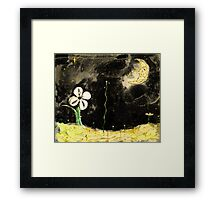 Wiggly Night Framed Print