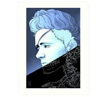 Rebel Madame Curie Art Print