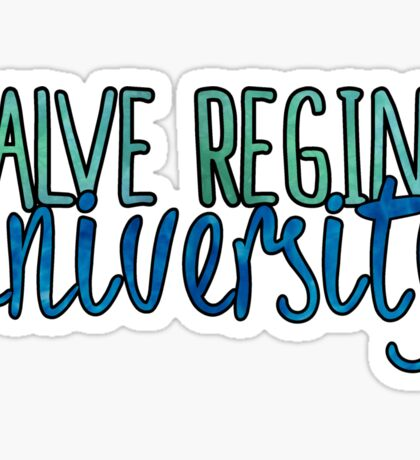 Salve Regina Two Tone Sticker