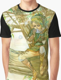 Peaceful Link Graphic T-Shirt