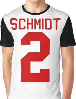 Kendall Schmidt jersey - red text Graphic T-Shirt