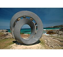 Spiral 2 @ Sculptures By The Sea, 2011 Photographic Print