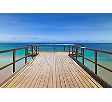 North Beach Jetty, Perth, Western Australia Photographic Print