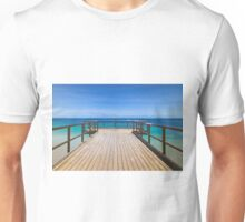 North Beach Jetty, Perth, Western Australia Unisex T-Shirt