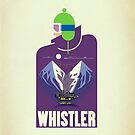 &quot;Full Moon&quot; Whistler Village iPhone case by James Tuer