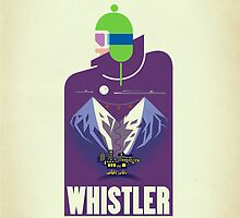 """Full Moon"" Whistler Village iPhone case by James Tuer"