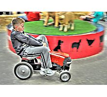Peddle Kart Mania Photographic Print