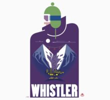 """Full Moon"" Whistler Village Shirt by James Tuer"