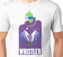 """Full Moon"" Whistler Village Shirt Unisex T-Shirt"