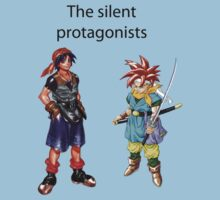 The Silent Protagonists by Typos Included