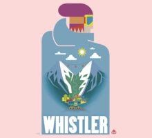 """Blue Bird"" Whistler Village Shirt Kids Tee"
