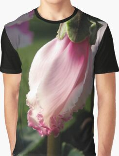 Cyclamen named Victoria Graphic T-Shirt
