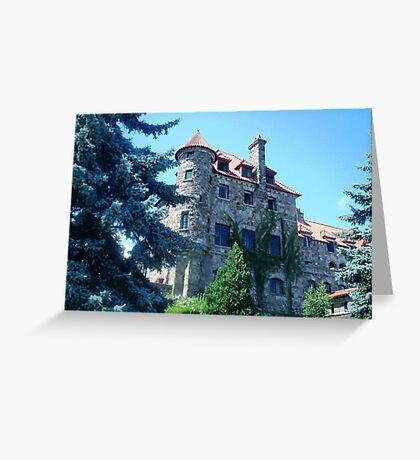 Majestic Singer Castle Greeting Card