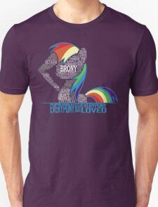 Brony Typography Unisex T-Shirt