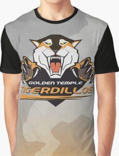 Golden Temple Tigerdillos Graphic T-Shirt