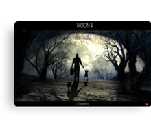 Moon 4 Canvas Print
