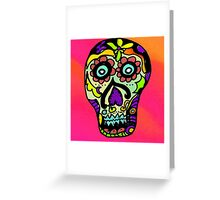 Dia de los Muertos , Day of the Dead - Sugar Skull Greeting Card