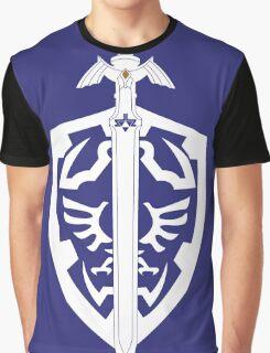 Sword & Shield Graphic T-Shirt