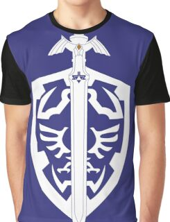 Sword & Shield Graphic T-Shirt