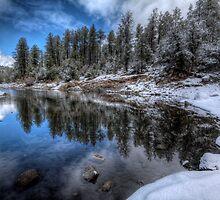 Winters Curve by Bob Larson