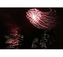 Crazy lights Photographic Print
