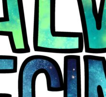 Salve Regina Galaxy Sticker