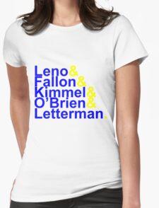 Late Night Jetset Womens Fitted T-Shirt